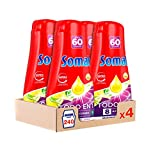 Somat All in 1 Spülmittel-Gel Feile und Limette - 4er Pack insgesamt 240 Wäschen (4,32 L)
