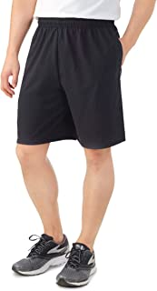Fruit of the Loom Men's Cotton Blend Micro-Mesh Knit Athletic Shorts with Pockets Gym Shorts for Men
