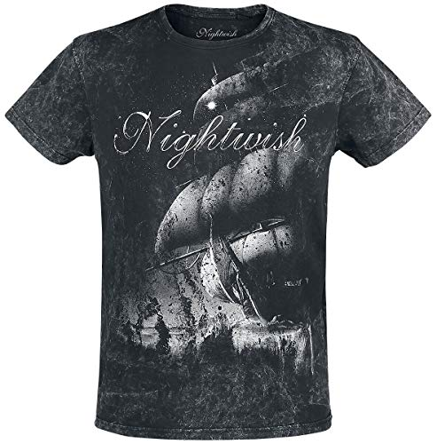 Nightwish Woe to All Männer T-Shirt schwarz XL 100% Baumwolle Band-Merch, Bands
