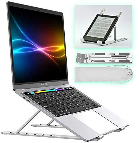 ProDuk Laptop Stand | Portable Adjustable Multi-Angle & Cooling | for MacBook Tablet Notebook eReader eBook | Desk Office Home Kitchen or Travel