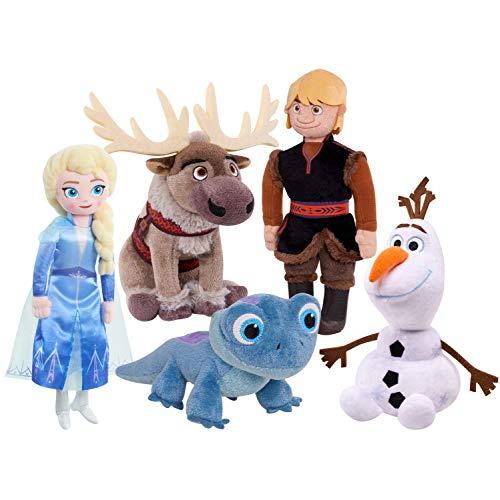 Disney Frozen 2 Plush Toy for Kids, Plush Collector Set