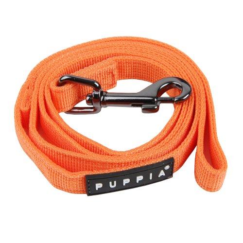 Puppia Laisse pour Chien Orange Taille S 116 cm 10 mm