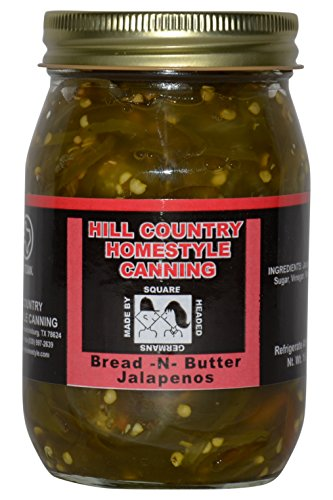 Texas Hill Country Bread And Butter Jalapenos 16oz
