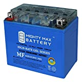 Mighty Max Battery YTX12-BS 12V 10AH Gel Battery for Suzuki VZ800 Marauder 1997-2008 Brand Product