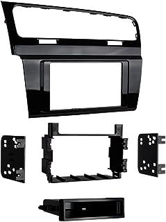 Metra 99-9013HG Single/Double DIN Dash Kit for 2015 - Volkswagen Golf (High Gloss Black)