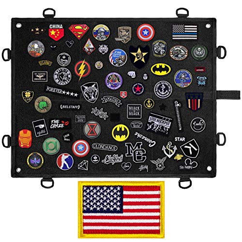 IronSeals Morale Patch Panel, Tactical Board Patch Organizer Holder -...