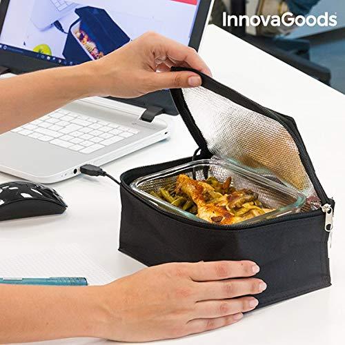 Innovagoods bb_V0100996 Thermotasche für Lunchbox, Schwarz