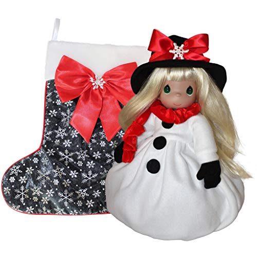 Precious Moments, The Doll Maker Stocking Doll - Snow Much Fun - 28th Edition, 16 inches