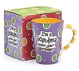 Burton 9716068 I'm A Grandma, What's Your Super Power, Coffee Mug, 12 oz.