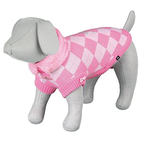 TRIXIE Prinzessin Hund Pullover, 24cm, pink