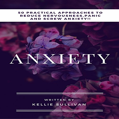 Anxiety audiobook cover art