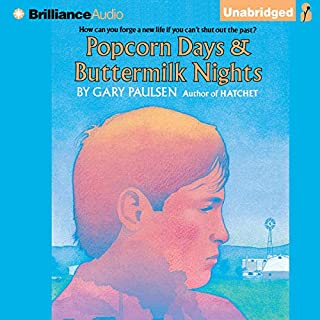 Popcorn Days & Buttermilk Nights audiobook cover art