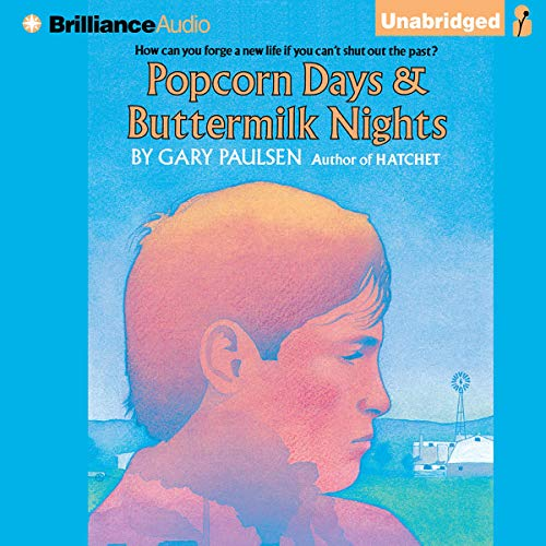 Popcorn Days & Buttermilk Nights audiobook cover art