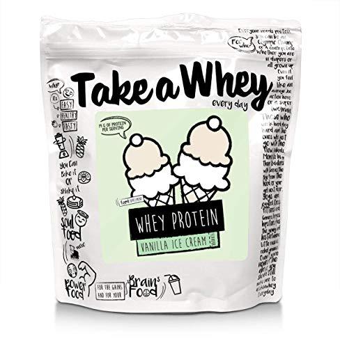 Take-A-Whey Shake Di Proteine Del Siero Di Latte, Gelato Alla Vaniglia - 900 g