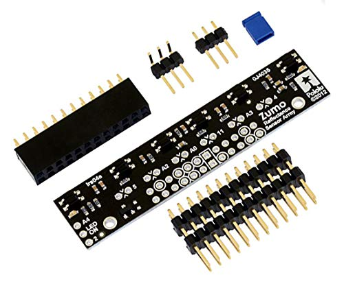 Pololu - Zumo Reflexionssensor-Array Modul 40mA, konzipiert für Arduino Zumo-Shield