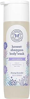 The Honest Company Truly Calming Lavender Shampoo + Body Wash Tear Free Baby Shampoo + Body Wash Naturally Derived Ingredi...