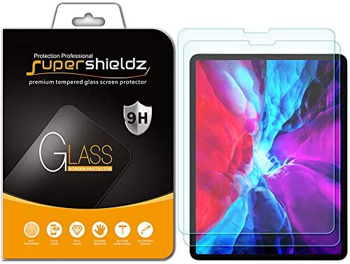 2 Pack Supershieldz for Apple iPad Pro 12 9 inch 2020 and 2018 Model 4th 3rd Generation Screen product image