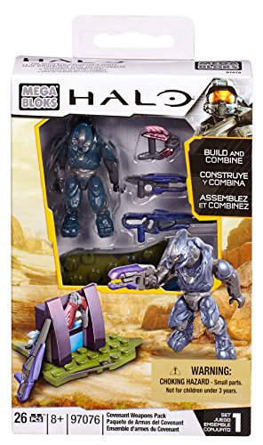 Mega Bloks Halo Build and Combine Covenant Waffen Packung [UK Import]
