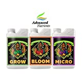 Advanced Nutrients pH Perfect Grow / Bloom / Micro 1L Fertilizante Mineral Para El Crecimiento y la Floración