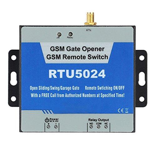 TOOGOO(R) GSM Tueroeffner Remote Ein/Aus Schalter mit 850/900/1800 kostenlose SMS unterstuetzt Befehl/1900 MHz