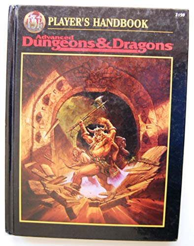 AD & D NEW PLAYER'S HANDBOOK (Advanced Dungeons & Dragons)