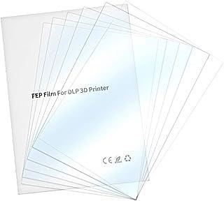 UniTak3D Film di Rilascio FEP,140x200mm per UV DLP LCD per ANYCUBIC Photon per ELEGOO Mars Stampanti 3D Spessore 0,15 mm Confezione da 2 Pezzi