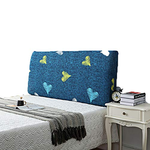 abamboo Simplicity Bed Slipcover All-Inclusive-Sofabezug Kopfschutz Bedside Printing Dustproof Headboards