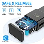 Adaptive Fast Charging Wall Charger Adapter Compatible Samsung Galaxy S6 S7 S8 S9 S10 / Edge/Plus/Active, Note 5,Note 8, Note 9,LG G5 G6 G7 V20 V30 ThinQ Plus EP-TA20JBE Quick Charge (2 Pack) 14 Fast charging compatible with: Samsung Galaxy S6/ S6 edge/ S6 Plus/ S6 Active/ S7/ S7 edge/ S7 Plus/ S7 Active/ S8/ S8 Plus/ S8 Active/ S9/ S9 Plus/ S9+/ S10/ S10 Plus/ S8/ S8+/ Note 8/ Note 9, LG G5 G6 G7 V20 V30 ThinQ plus and other quick charger 2. 0 ( QC2. 0 )Supported devices. ( Samsung fast charger ) Adaptive fast charge: adaptive fast charger Charge for 30 minutes, up to 50% battery level, 75% faster than standard chargers. Perfect design: Lightweight, compact design that fits your storage requirements. You can take it when you travel, make it easy to charger your smartphones specification: Input 100-240V/ output 9V = 1. 67a or 5. 0V = 2. 0a.
