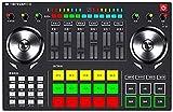 MWKL Verbesserter Party-Mix - Komplettes DJ-Controller-Set für DJ mit 2 Decks, Party-Lichtern,...