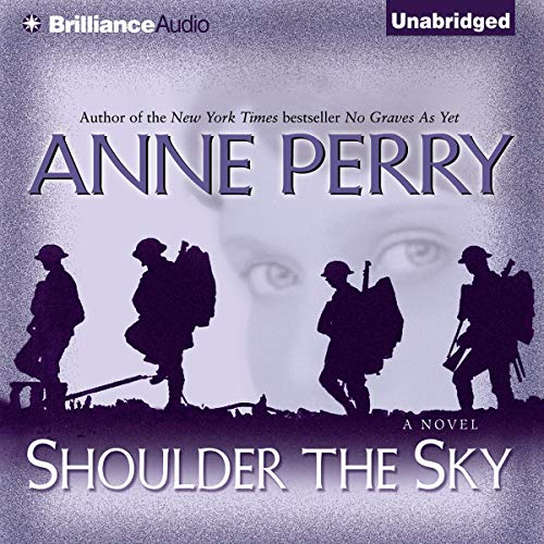 Shoulder the Sky audiobook cover art