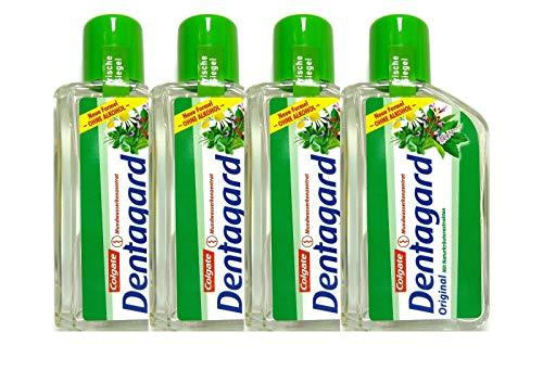 4x Dentagard Original Mundwasserkonzentrat 75ml Naturkräuterextrakt Ohne Alkohol
