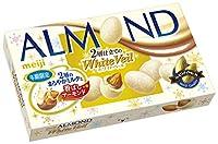 明治 アーモンドチョコレートホワイトベール 59g×10個