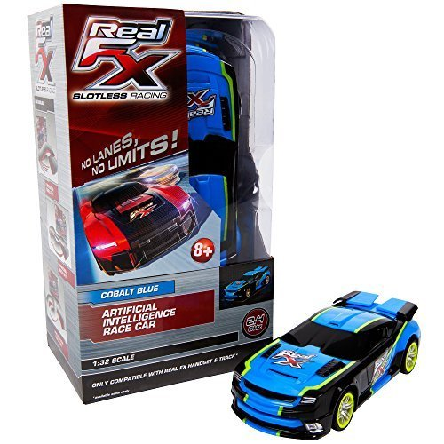 Real FX Racing - Cobalt Blue Race Car by Real FX