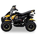 Miniquad Kinder Cobra ATV gelb / schwarz - 4