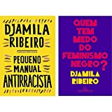 KIT 2 Livros Autora Djamila Ribeiro - Pequeno Manual Antirracista + Quem tem Medo do Feminismo Negro
