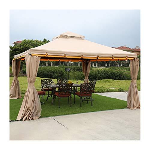 YYDD Villa Garden Furniture, Outdoor Gazebo Lawn Tent, 13x13 FT Gazebo for Patios, Villa Garden Gazebo Outdoor Canopy Patio Pavilion, for Garden, Patio, Lawns, Parties, Family Gathering