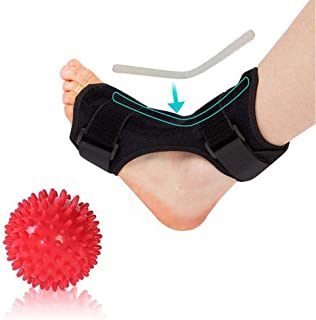 Adjustable Plantar Fasciitis Dorsal Night and Day Splint for Heel Pain Relief Drop Foot Orthotic Brace for Sleep Support F...