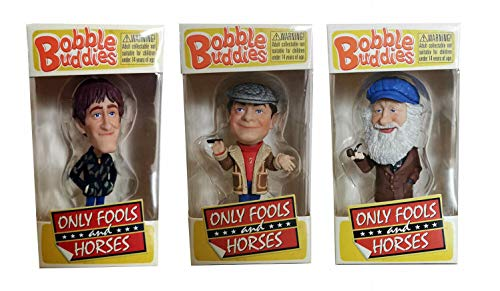 Only Fools and Horses Mini Bobble Buddies, Del Boy, Rodney and Albert