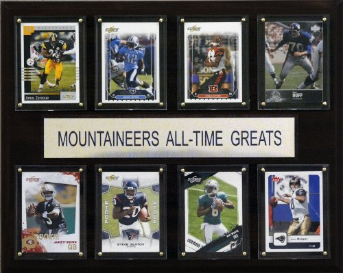 NCAA Football West Virginia Mountaineers All-Time Greats Plaque