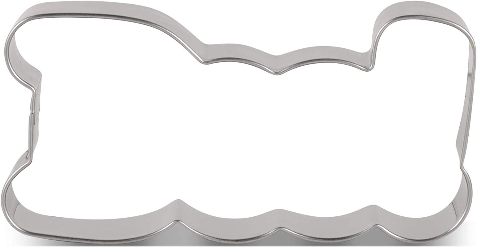 LILIAO BOO Cookie Cutter For Halloween 4 X 2 Inches Stainless Steel