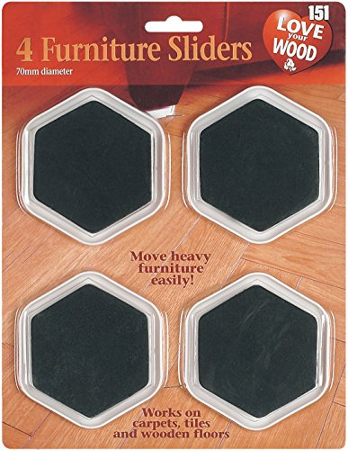 Heavy Duty Furniture Sliders To Move Furniture Easily by Rose Evans