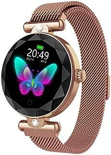 Xiangjin Smartwatch for Kids,Women Fashion Crystal Round Screen Bluetooth Smart Bracelet