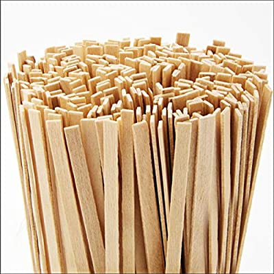 Cafe Grade, Biodegradable Wood Coffee Stirrer 5000 Ct, 5.5 In. Bulk Birch Wooden Beverage Stirring Stick for Tea, Cream or Sugar. Best Eco Friendly, Compostable Swizzle Stir Sticks Business Supplies