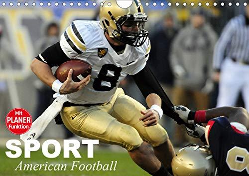 Sport. American Football (Wandkalender 2021 DIN A4 quer)