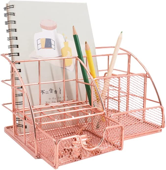 Metal Max 50% OFF Office Max 87% OFF Stationery Desk Organizer Organiser with Tidy