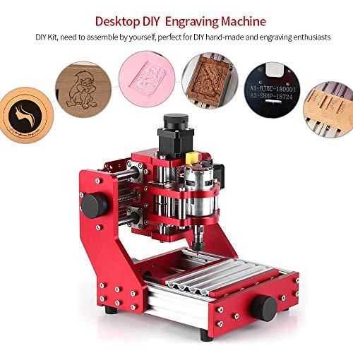 VogvigoCNC 1310 máquina de corte de grabado de metal enrutador, mini máquina CNC...