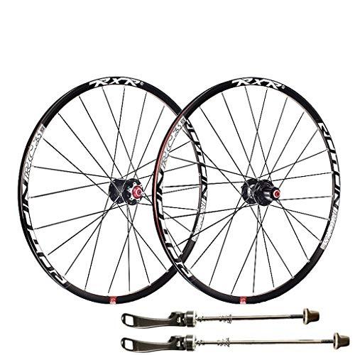 RC3 Ultraligero bicicleta de montaña Juego de ruedas de aleación de aluminio llanta 120 Sonidos 5 rodamientos 26 '/27.5' / 29' freno de disco de la bicicleta del lanzamiento rápido de la fibra de carb