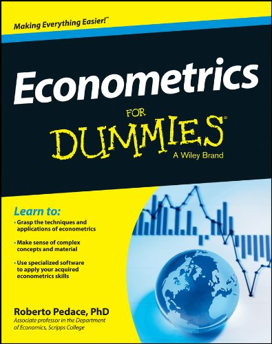 Compare Textbook Prices for Econometrics For Dummies 1 Edition ISBN 9781118533840 by Pedace, Roberto