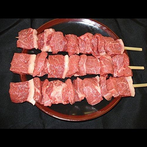 バーベキュー串焼用【国産牛モモ】1本(約200g)