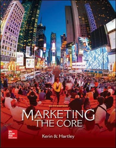 Download Marketing: The Core 007772903X